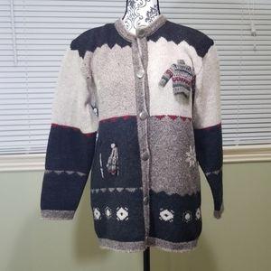 Giesswein Wool Cartigan Sweater